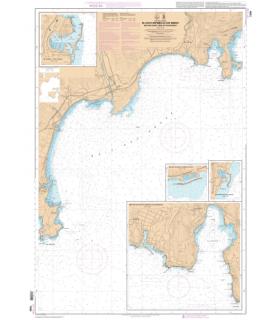 7200 - Du Cap d'Antibes au Cap Ferrat - Baie des Anges - Rade de Villefranche