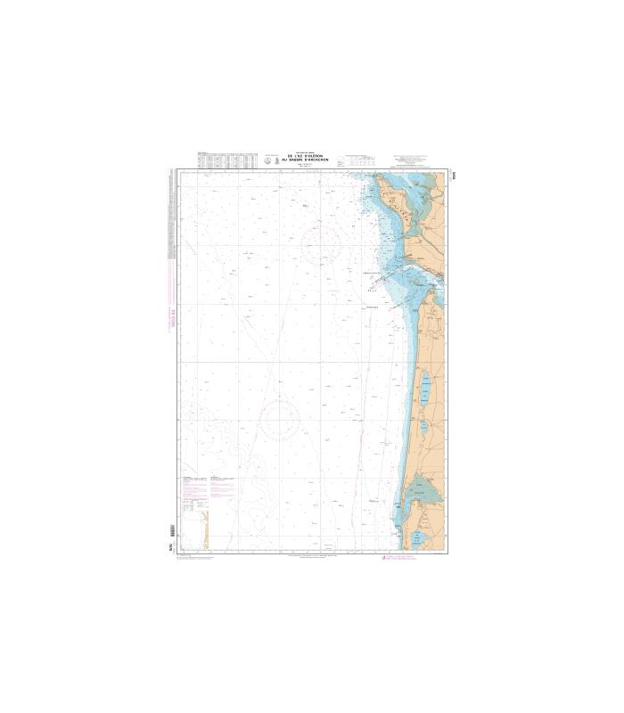 Carte marine shom num rique 7070 de l 39 le d 39 ol ron au bassin d 39 ar - Ouest france abonnement numerique ...