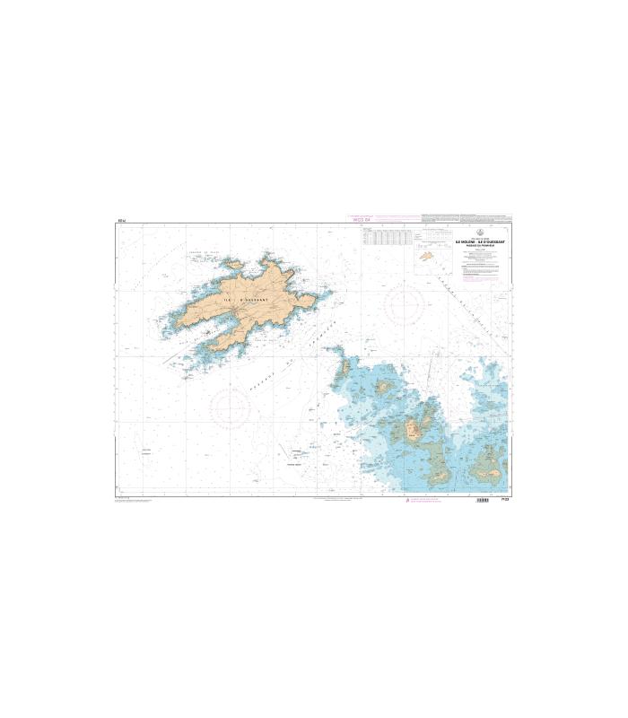 Carte marine shom num rique 7123 ile mol ne ile d - Ouest france abonnement numerique ...