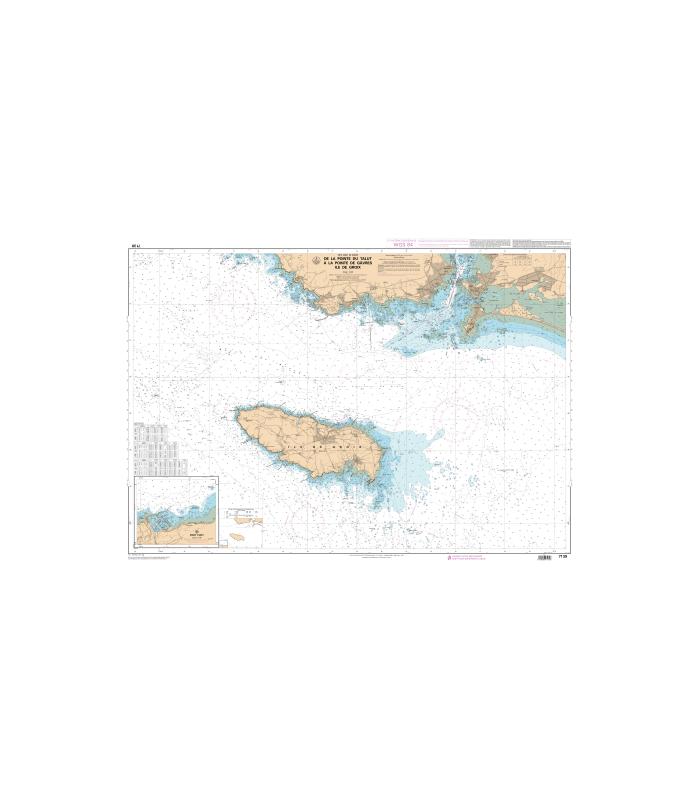 Carte marine shom num rique 7139 de la pointe du talut - Ouest france abonnement numerique ...