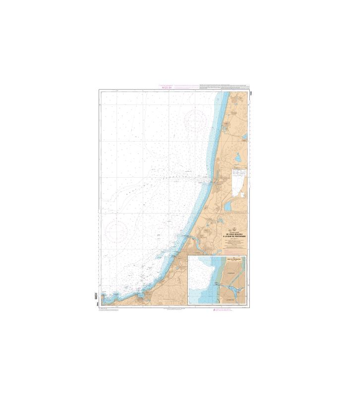 Carte marine shom num rique 7440 de vieux boucau la baie de fon - Ouest france abonnement numerique ...