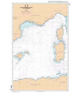 7014 L - Des îles Baléares à la Corse et à la Sardaigne