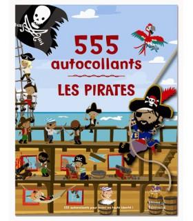 555 autocollants pirates