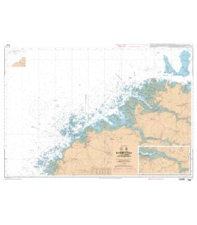 7094 L - Du Phare du Four à l'île Vierge - Port de l'Aber-Wrac'h
