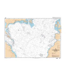 6561 L - Carte conforme oblique de l'océan Atlantique Nord  France-Antilles -Route du Rhum