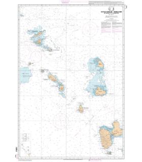 7630 L - Petites Antilles - Partie Nord - De Anguilla à la Guadeloupe