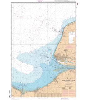 7418 L - Abords du Havre et d'Antifer - Embouchure de la Seine - De Ouistreham au Cap d'Antifer