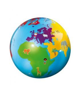 Ballon gonflable planète Culbuto