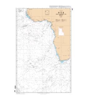 6808 - Océan atlantique Sud Partie Est - Carte marine Shom classique