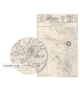 Carte des Isles de Ré et d'Olléron