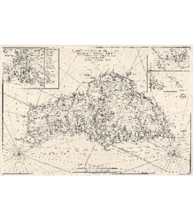 Carte de l'Isle de Belle-Isle