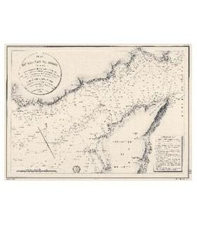 Plan du Goulet de Brest