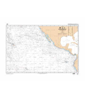 7166 - Océan Pacifique Nord - Partie Ouest - carte marine Shom