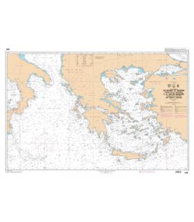 7338 - Mer Ionienne et Mer Egée - Carte marine Shom