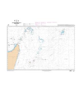 6813 - De Récife à Dakar - carte marine Shom papier