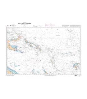 6670 - Mers de Tasman et du Corail - carte marine Shom