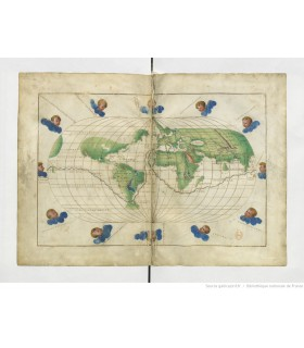 Atlas nautique, Battista Agnese, Venise, 1543