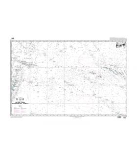 6880 - Des îles Tonga à l'archipel des Tuamotu - Carte marine papier