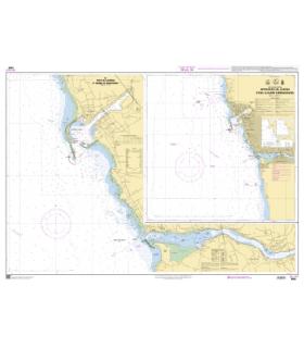 7650 - Approches de Leixões et de la Barre de Rio Douro - Carte marine Shom papier