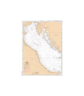 3975 - Mer Adriatique Partie Nord - Carte marine Shom