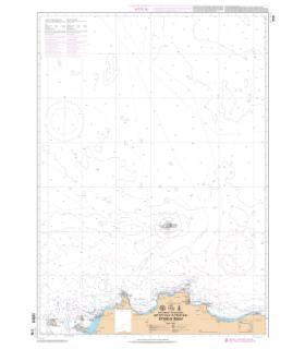 7774 - de Flumicino à Punta Licosa - Carte marine Shom