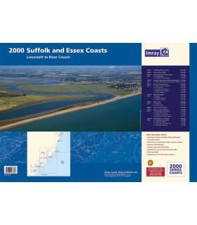 2000 - Suffolk and Essex Chart Pack - Carte marine Imray