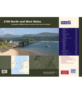 2700 North and West Wales Chart Atlas - Carte marine Imray