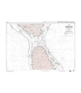 7466 - Archipel de la société - Iles sous le vent - Bora Bora - carte marine papier