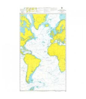 Admiralty 4003 - South Atlantic Ocean - Carte marine papier