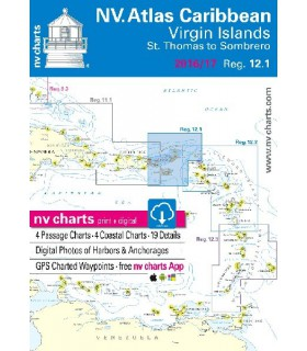 NV charts Bahamas South East - carte marine