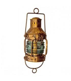 Lampe de mouillage en laiton vieilli