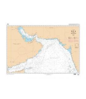 6734 - Mer d'Arabie - Carte marine Shom papier