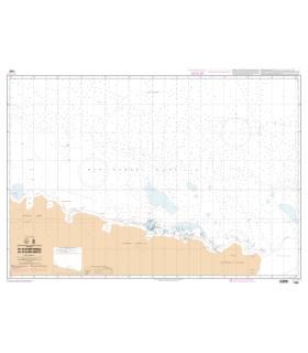 7592 - Du Glacier Dibble au Glacier Mertz - Carte marine papier