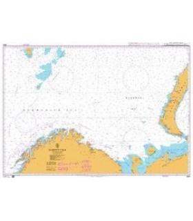 Admiralty 2683 - Barents sea - Carte marine papier