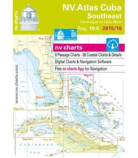 NV charts Cuba Southeast - Carte marine