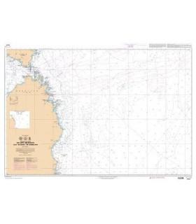 7509 L - De Capo Sant'Elia à Capo Bellavista - Carte marine Shom papier