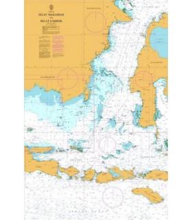 Admiralty 2471 - Selat Makassar to Selat Lombok - carte marine