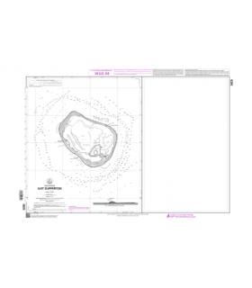 5825 - Ilot Clipperton - Carte marine Shom papier