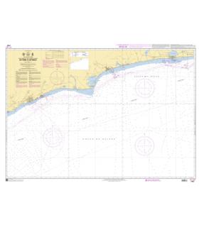 7787 - de Tema à Cotonou - Carte marine Shom