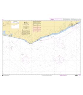 7786 - de Lagune Aby à Tema - Carte marine Shom