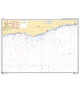 7187 - de Sassandra à Lagos - Carte marine Shom