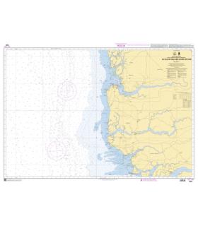 7389 - du fleuve saloum à Ilheu de caio- Carte marine Shom papier