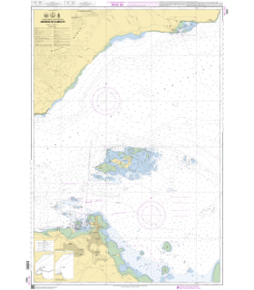 7547 - Abords de Djibouti - Carte marine Shom