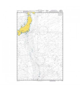 Admiralty 4510 - Eastern portion of Japan - Carte marine papier