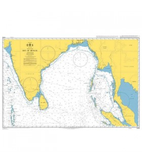 Admiralty 4706 - Bay of Bengale - Carte marine papier