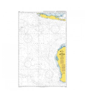 Admiralty 4708 - Australia West Coast - Carte marine papier
