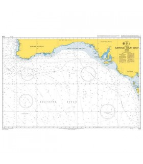 Admiralty 4709 - Australia South Coast - Carte marine papier