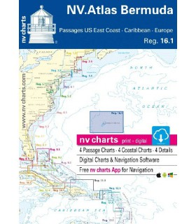 NV charts Bermuda Islands - carte marine