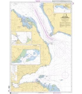 7519 - Bab el Mandel et golfe de Tadjoura - Carte marine Shom papier