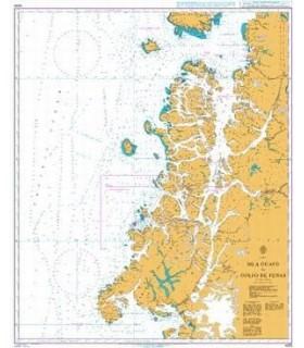 Admiralty 4255 Chile - Isla Guafo to Golfo de Penas - Carte marine Admiralty